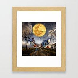 Halloween - Trick or Treat Framed Art Print