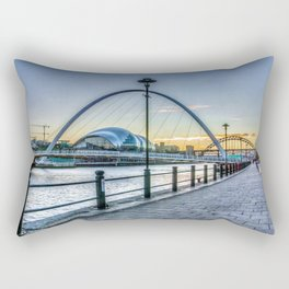 Newcastle Quayside Rectangular Pillow