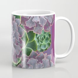 SUCCULENTS GARDEN IN MAUVE PURPLE ART Coffee Mug