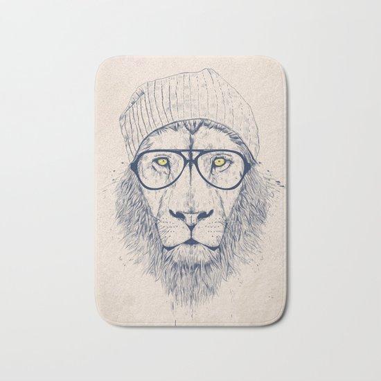 Cool lion Bath Mat