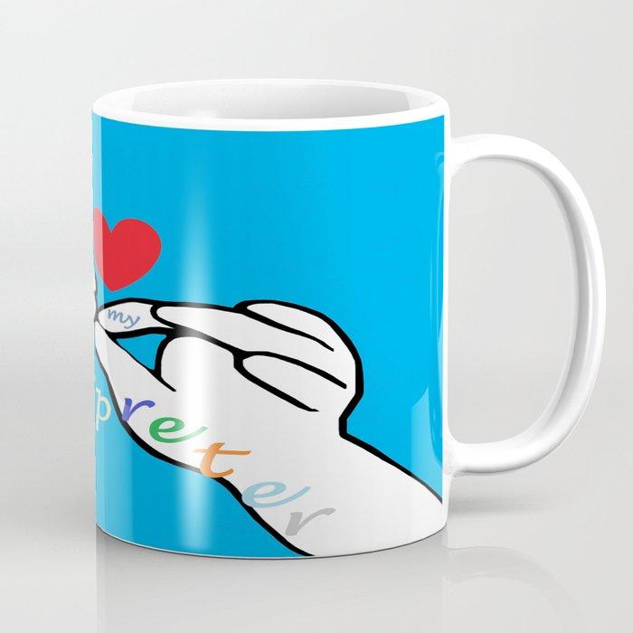 I Heart my Interpreter Coffee Mug