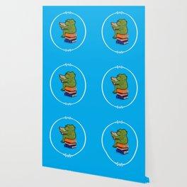 Frog Fiction Wallpaper