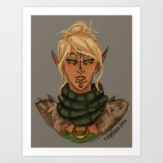 Velanna Art Print