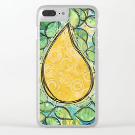 Drop Of Sunshine Clear iPhone Case