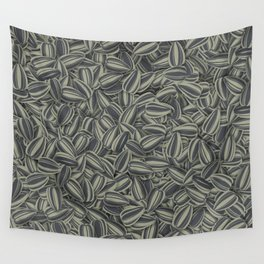 Pipas Mania (Spanish for sunflower seeds) Wall Tapestry