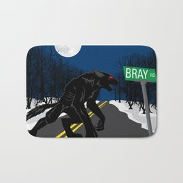 The Beast of Bray Road Bath Mat