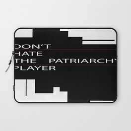 Don't Hate the Player... Laptop Sleeve