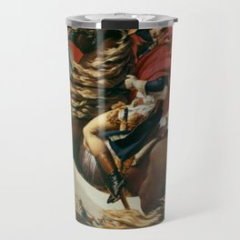 Napoleon Crossing The Alps Travel Mug