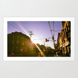 Day Sun Art Print
