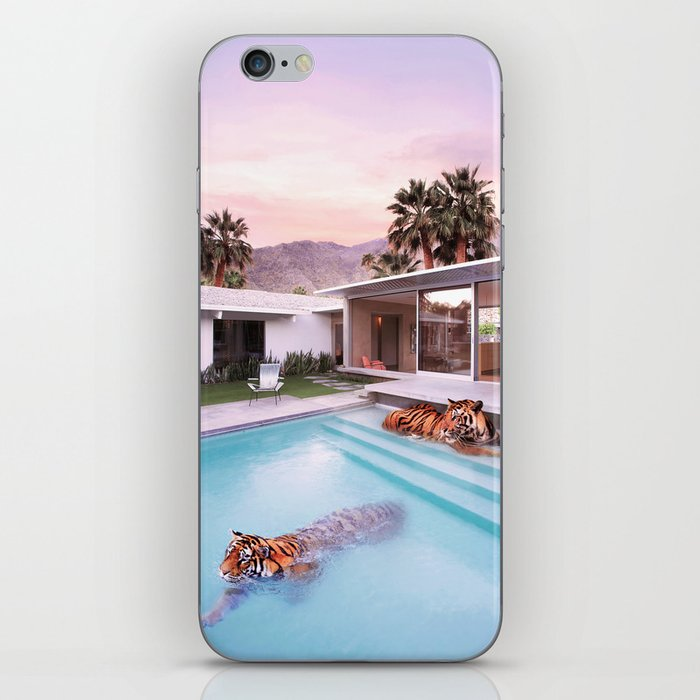 Palm Springs Tigers iPhone Skin