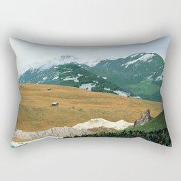 Experiment am Berg 21 Rectangular Pillow