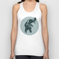 tokyo ghoul Tank Tops featuring Ghoul by Matthew Dunn