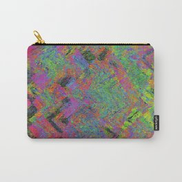 Abstracting Pink Carry-All Pouch