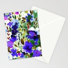 Evie Floral Olive Stationery Cards
