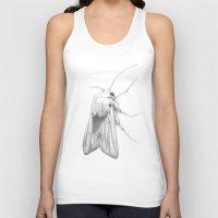 moth Tank Tops featuring Moth  by Bonnie Durham