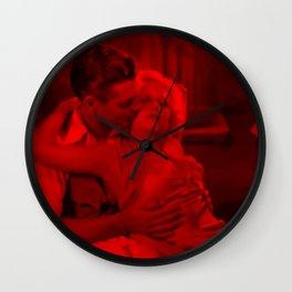 Clark Gable & Jean Harlow - Celebrity (Photographic Art) Wall Clock