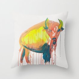 NO BULLSHIT Throw Pillow