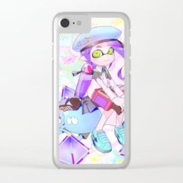 Inkling-girl Clear iPhone Case