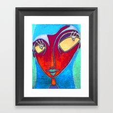 MATA HARI Framed Art Print