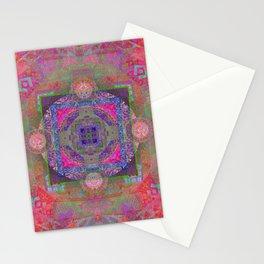 Luminous Boho Mandala Stationery Cards