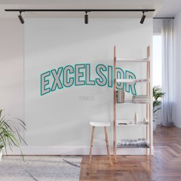 Excelsior, one of the Stan Lee's famous word Wall Mural