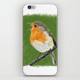 Robin 02 iPhone Skin