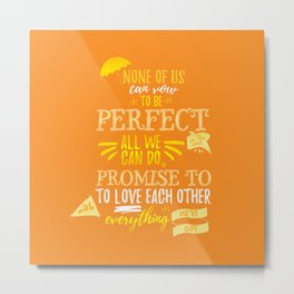 Love is the best thing we do Metal Print