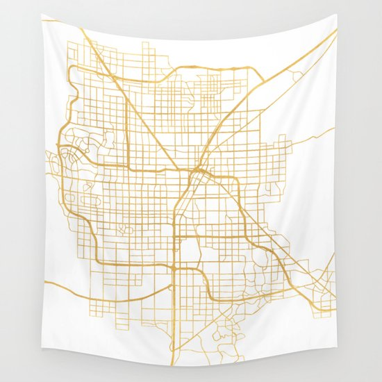 LAS VEGAS NEVADA CITY STREET MAP ART Wall Tapestry By Deificus Art - Las vegas map nevada