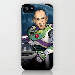 Buzz Aldrin of Star Command iPhone Case