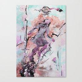 Wut & Ohnmacht Canvas Print
