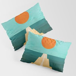 The Road Less Traveled Pillow Sham