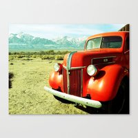 ford Canvas Prints featuring FORD by JordanStempsonPhoto