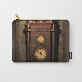 Steampunk Generator Bronze Carry-All Pouch