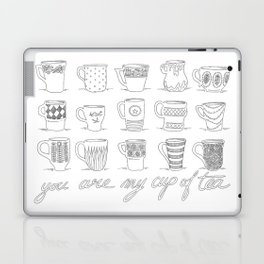 You are my cup of tea Laptop & iPad Skin