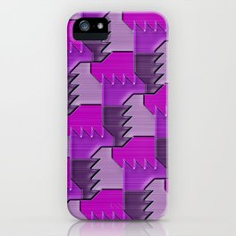 Geometrix XCIII iPhone Case