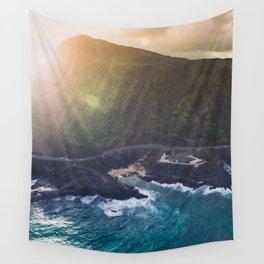 Makapuu Beach in Oahu, Hawaii Wall Tapestry