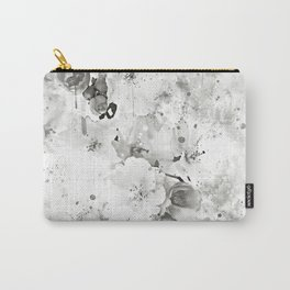 japanese cherry blossom wsbw Carry-All Pouch