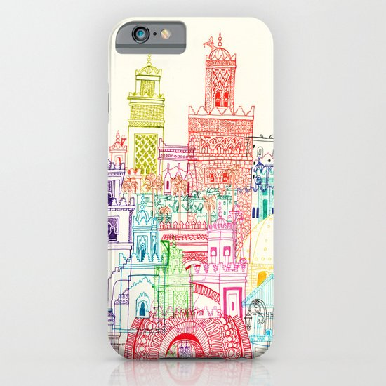 Marrakech Towers  iPhone & iPod Case