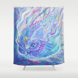 Light Flight Shower Curtain