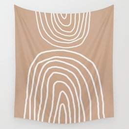 Abstract Rainbow, Wall Tapestry
