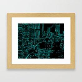 City of the Future Framed Art Print
