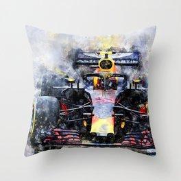 Max Verstappen No.33 Throw Pillow