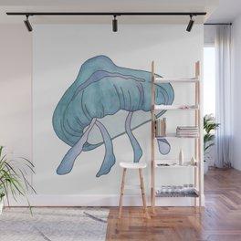 Aqua Jelly Wall Mural