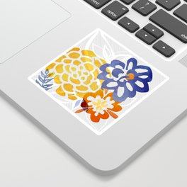 Bright Nature Abstract Sticker