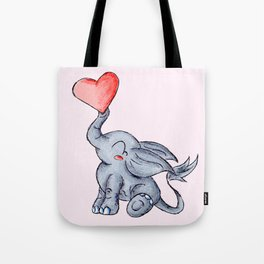 Heart for Baby (Girl) Tote Bag