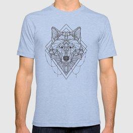Geometric Wolf T-shirt