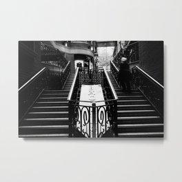 Stairway motion Metal Print