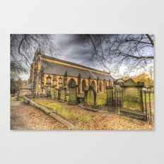 Greyfriars Kirk Edinburgh Canvas Print
