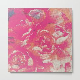 flower peone Metal Print