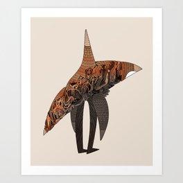 Orcamorph Art Print